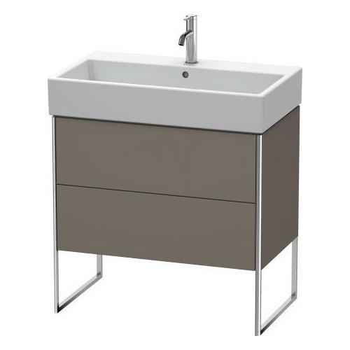Vanity Unit Floorstanding, Flannel Gray Satin Matte (lacquer)