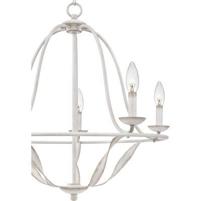 See Details - Bradbury Chandelier in Antique White