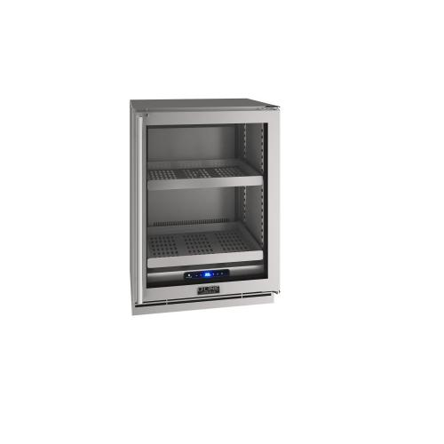 "24"" Refrigerator With Stainless Frame Finish (230 V/50 Hz Volts /50 Hz Hz)"