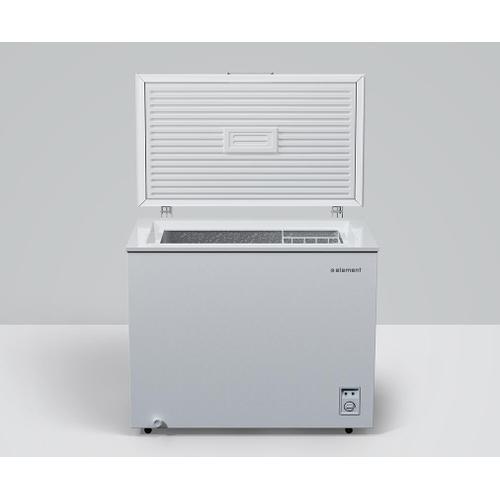 Element - Element 7 cu. ft. Chest Freezer, White