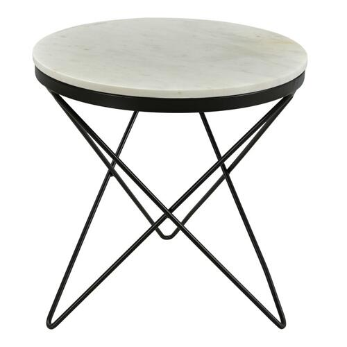 Haley Side Table Black Base