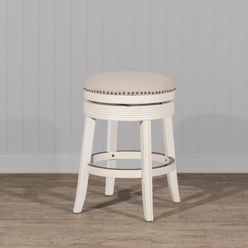 Product Image - Tillman Wood Counter Height Stool - White