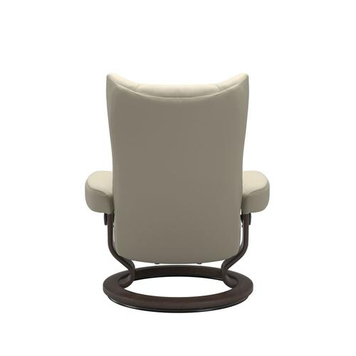 Stressless By Ekornes - Stressless® Wing (L) Classic chair with footstool