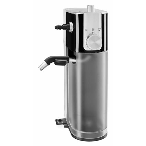 KitchenAid Canada - Metal Automatic Milk Frother Attachment - Onyx Black