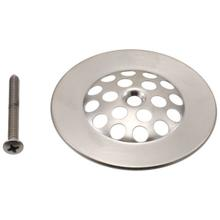 See Details - Brushed Nickel Dome Strainer with Screw