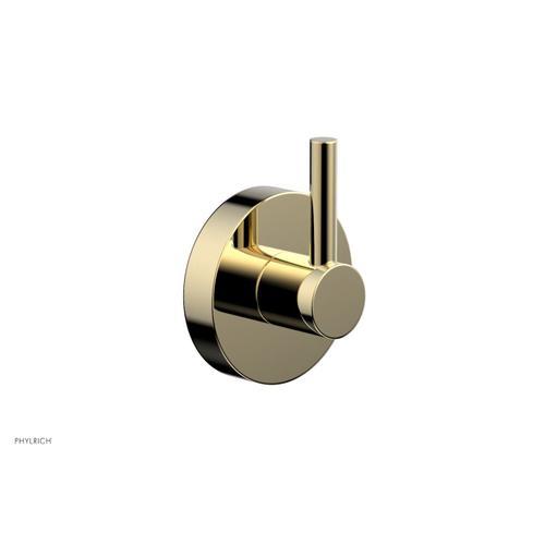 BASIC  BASIC II Robe Hook DB10 - Polished Brass Uncoated