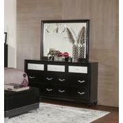 Barzini Seven-drawer Dresser With Metallic Drawer Front Product Image