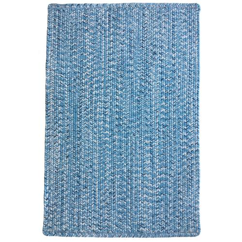Team Spirit Light Blue Navy Braided Rugs