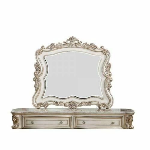 ACME Gorsedd Mirror - 27444 - Antique White