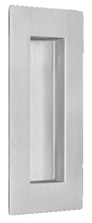Modern Rectangular Flush Cup in (Modern Rectangular Flush Cup - Solid Stainless Steel) Product Image