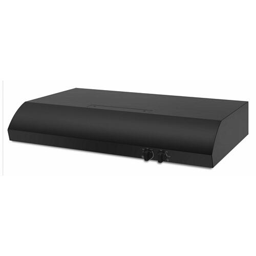 "30"" Range Hood with the FIT System - Black"