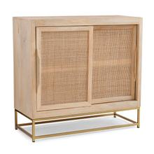 Raphael Rattan Cabinet Two Sliding Doors
