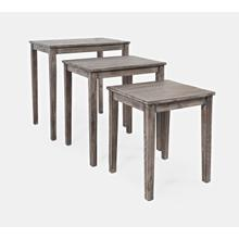 Global Archive Clark Nesting Tables (set of 3) - Stonewall Grey