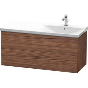 Vanity Unit Wall-mounted, Walnut Dark (decor)