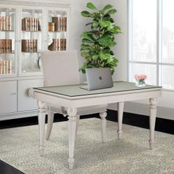 Writing Desk With Glass Top