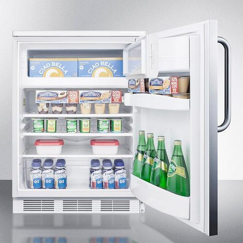 "24"" Wide Refrigerator-freezer"