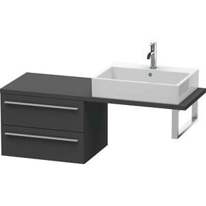 Low Cabinet For Console Compact, Graphite Matte (decor)
