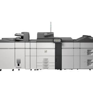 Sharp - MX-8081 80 ppm B&W and Color networked digital MFP