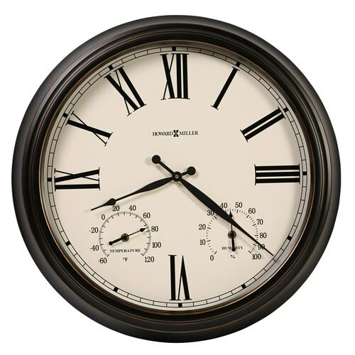 625-677 Aspen Outdoor Wall Clock