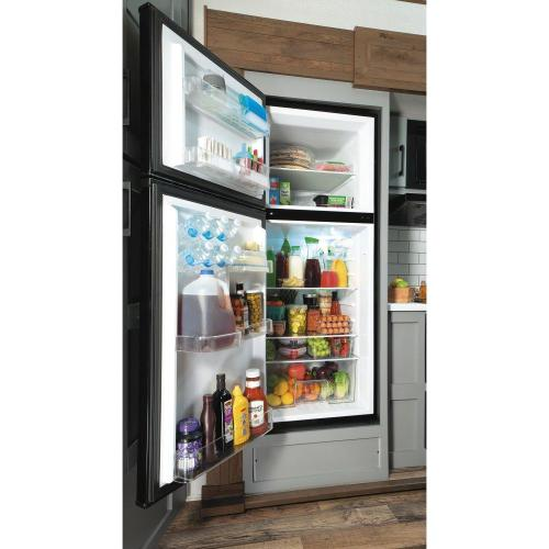 GE® 9.9 Cu. Ft. 12 Volt DC Power Top-Freezer Refrigerator