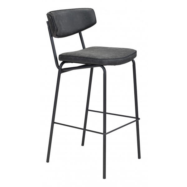 Sharon Bar Chair Vintage Black