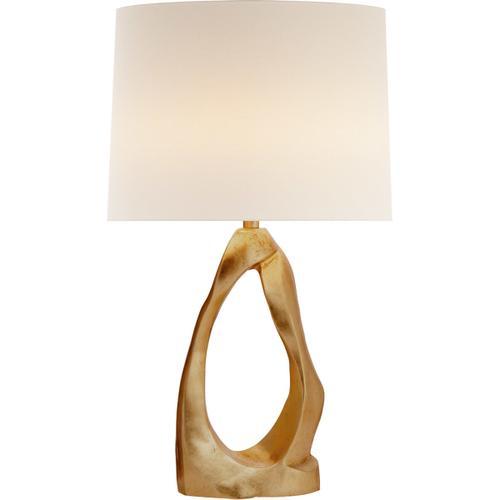 AERIN Cannes2 31 inch 150 watt Gild Table Lamp Portable Light