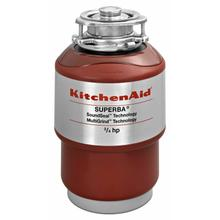 See Details - 3/4-Horsepower Continuous Feed Food Waste Disposer - Red