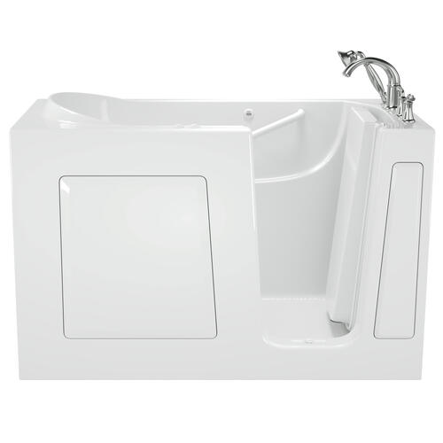 Gelcoat Value Series 30 x 60 Inch Walk-in Tub with Combination Massage  Right Drain  American Standard - White