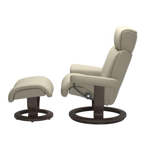 Stressless By Ekornes - Stressless® Magic (L) Classic chair with footstool