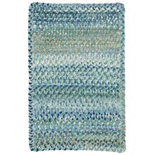 Grand-Le-Fleur Blue Mist Braided Rugs