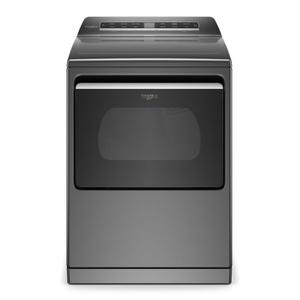 7.4 cu. ft. Smart Capable Top Load Electric Dryer - CHROME SHADOW