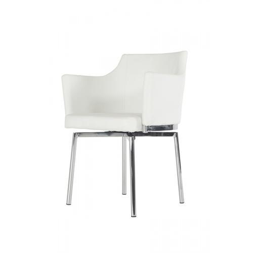 VIG Furniture - Modrest Kaweah Modern White Dining Chair