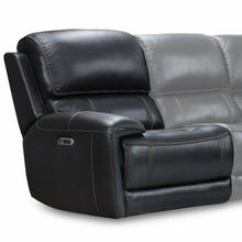 EMPIRE - VERONA BLACKBERRY Power Left Arm Facing Recliner