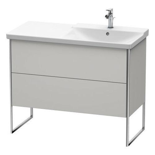 Duravit - Vanity Unit Floorstanding, Nordic White Satin Matte (lacquer)