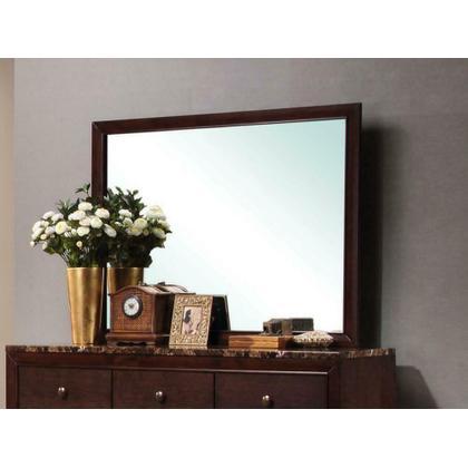 See Details - Conner Casual Cappuccino Rectangular Dresser Mirror