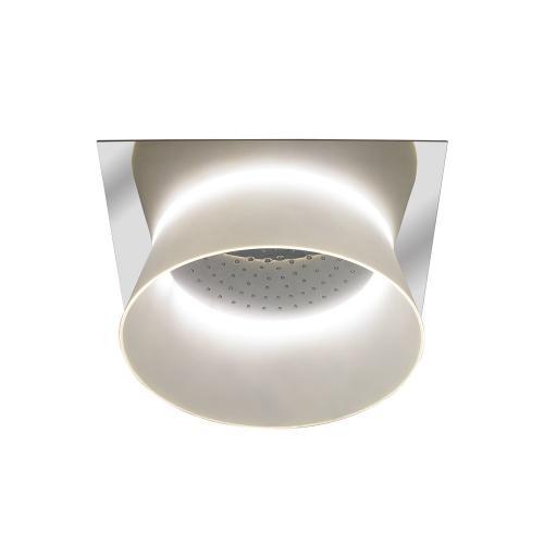 Aimes® Ceiling-Mount Showerhead with LED Lighting - Polished Chrome Finish