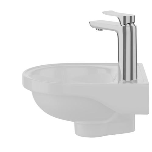 Rosanna Wall Hung Basin - White