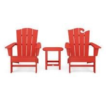 View Product - Wave Collection 3-Piece Set in Sunset Red