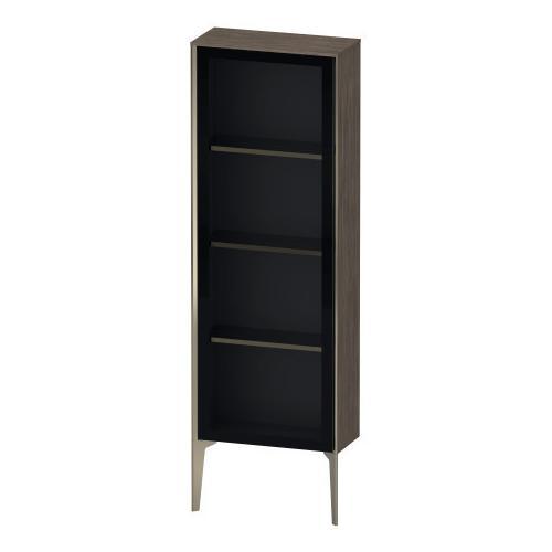 Duravit - Semi-tall Cabinet With Mirror Door Floorstanding, Pine Terra (decor)