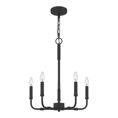 Abner Chandelier in Matte Black