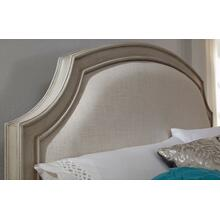 Emma Complete Upholstered Panel Bed, Full 4/6