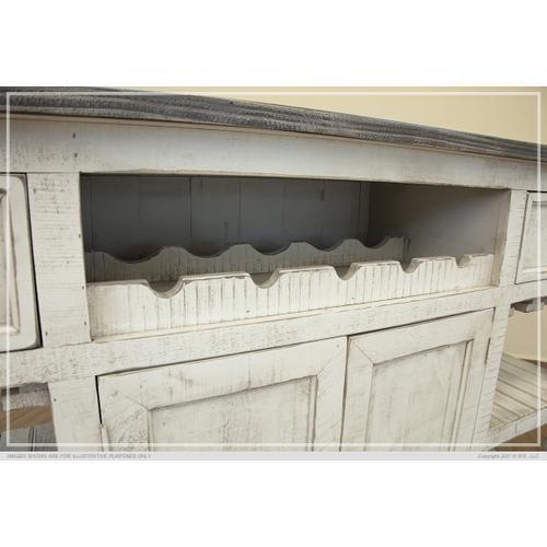 2 Drawer, 2 Doors Bar