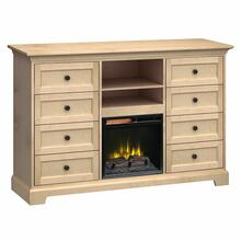 See Details - FT63G Extra Tall Fireplace Custom TV Console