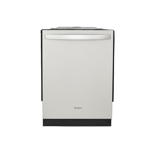 Whirlpool - Stainless Steel Tub Dishwasher with Third Level Rack