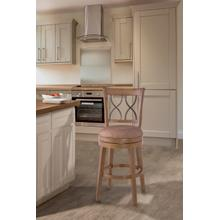 Reydon Swivel Bar Stool - Light Weathered Taupe Wash