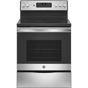 "GEGE® 30"" Free-Standing Electric Convection Fingerprint Resistant Range"