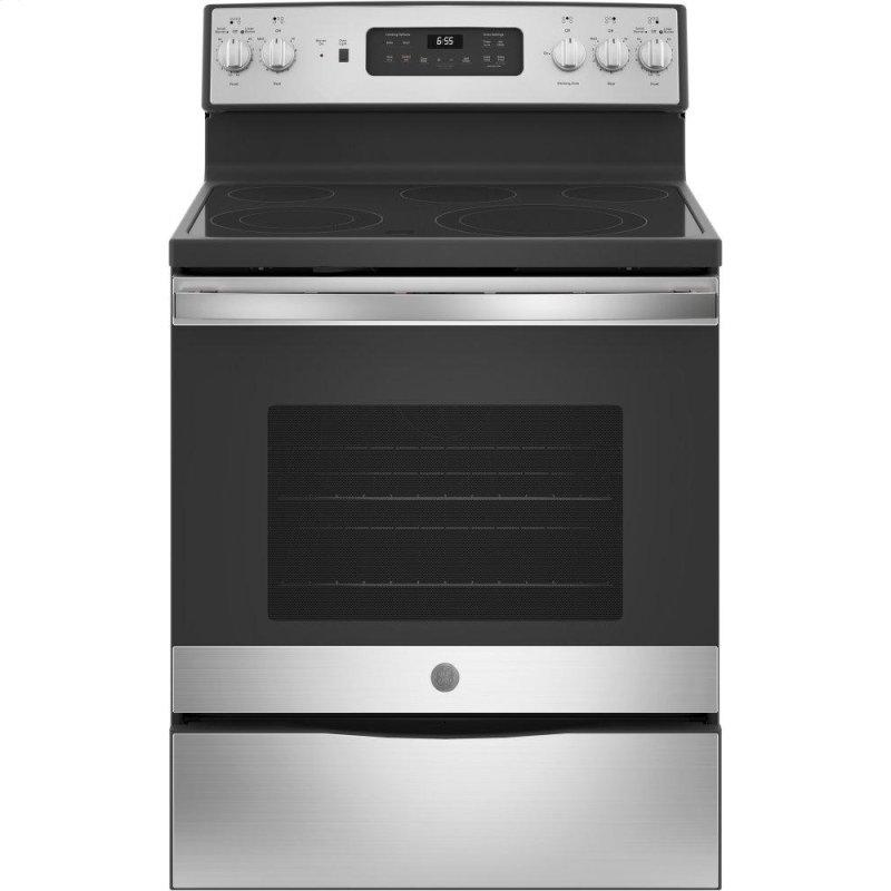 """30"""" Free-Standing Electric Convection Range"""