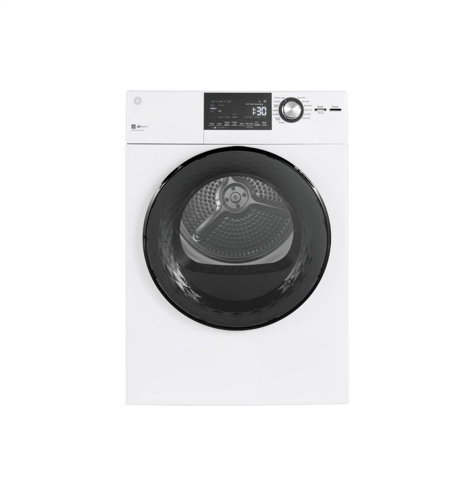 "GE24"" 4.3 Cu.Ft. Front Load Vented Electric Dryer With Stainless Steel Basket"
