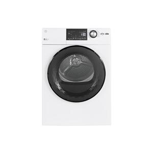 "GE® 24"" 4.3 Cu.Ft. Front Load Vented Electric Dryer with Stainless Steel Basket Product Image"