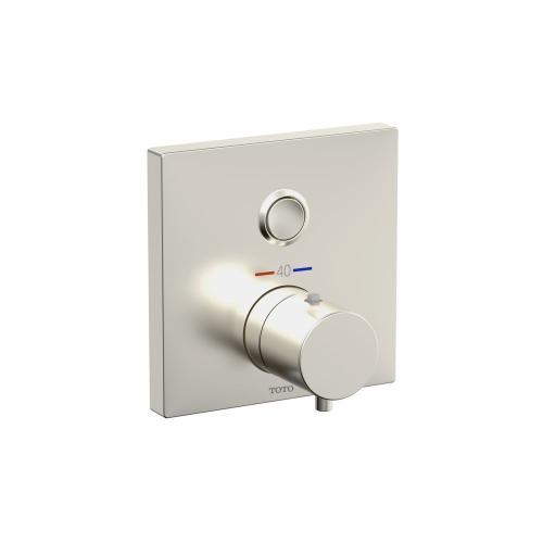 Thermostatic Mixing Valve 1-Function Trim - Brushed Nickel